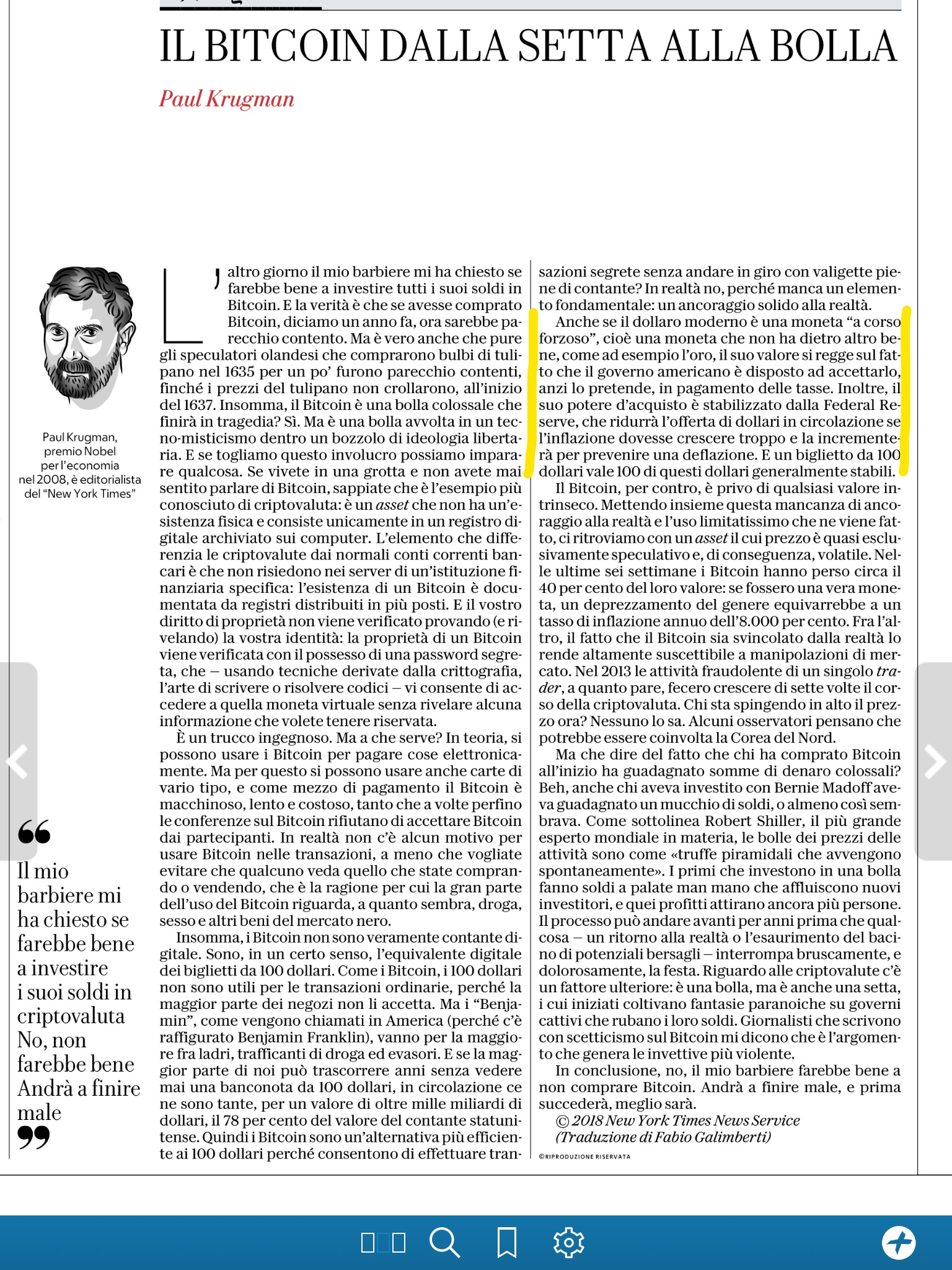 krugman su bitcoin come fare 1 bitcoin a settimana